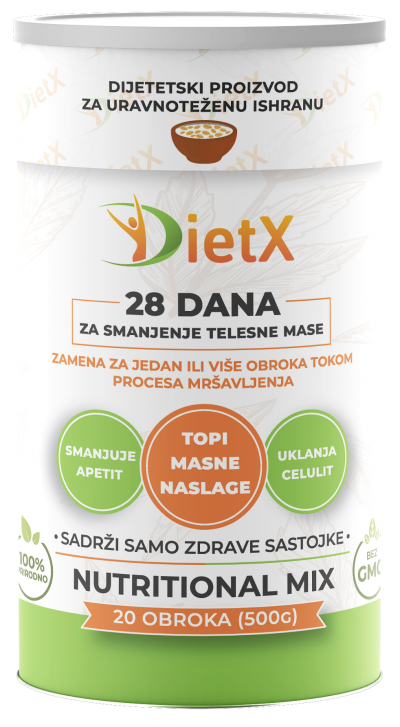 DietX pakovanje