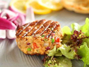 Keto recept za burgere od tune i avokada