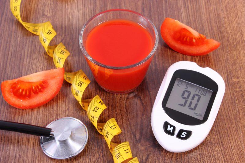 Sok od paradajza za mršavljenje