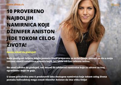 10 proverenih namirnica koje Dženifer Aniston jede tokom celog života